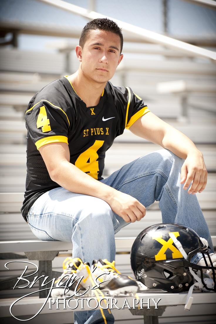 Bryan's Photography - Albuquerque, New Mexico    #classof2012 #senior #football #jersey #abq #stpiusx