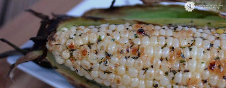 Grilled Corn on the Cob | with garlic, hot sauce, & herb butter ...