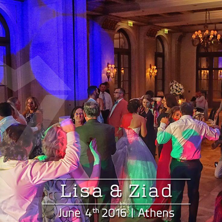 Snapshot from Lisa and Ziad's #Wedding in #Athens | #DJMikeVekris #WeddinginGreece #DJinGreece #AmericanWedding #LebaneseWedding #GreekWeddingDJ #GrandBretagneHotel #AthensWeddings #AthensDJ #DJinAthens #DJinGreece