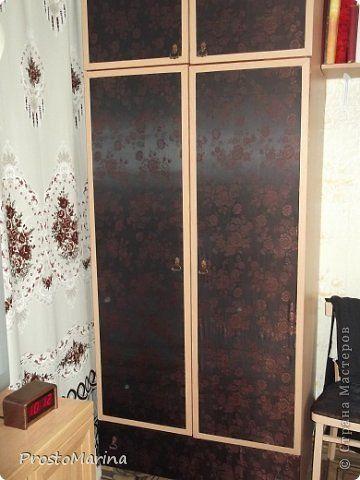 Интерьер Моя переделанная мебель Ткань фото 9
