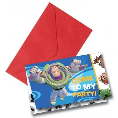 Rêves & Merveilles Set of Toy Story invitations / Set de cartes d'invitation Toy Story