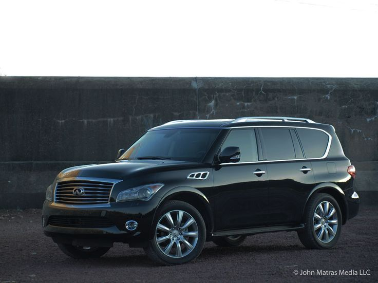 qx56 with 26 inch rims | The 2012 Infiniti QX56 4WD equipped with optional 22-inch alloy wheels ...