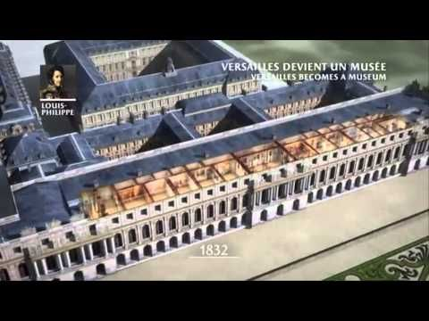 Versailles 3D, with Google - YouTube