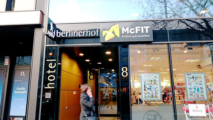 McFit, not a new brand from McD.  It is actually a fitness gym.