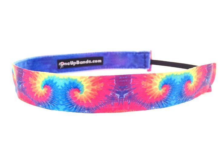 One Up Bands Women's Tie Dye Rainbow One Size Fits Most -- You can find out more details at the link of the image.