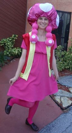 Toadstool Halloween Costume