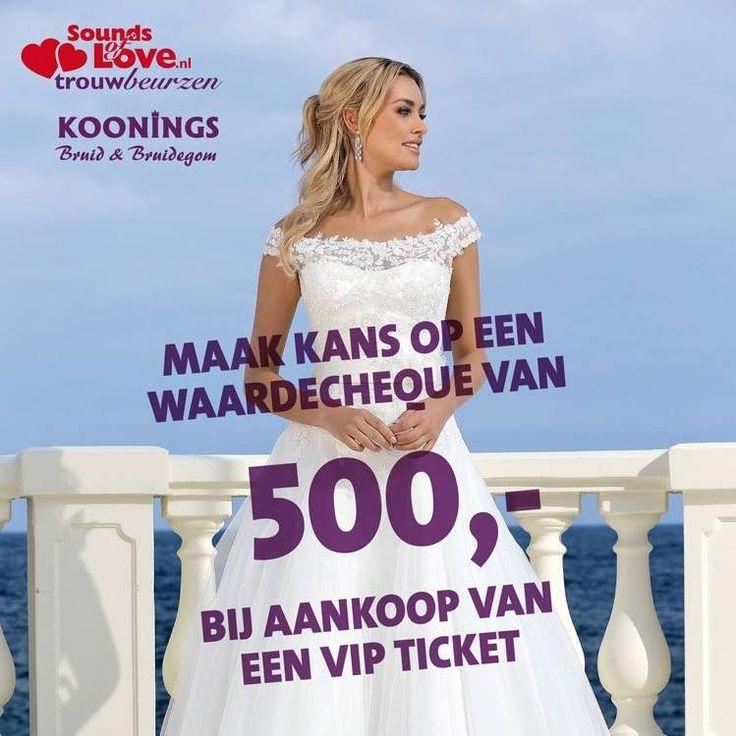 WIN €500.- KORTING OP EEN TROUWJURK | Koonings bruid & bruidegom