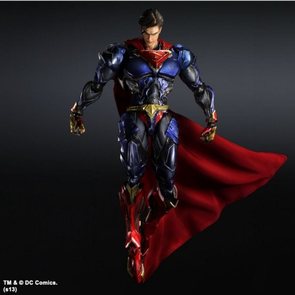 Kirin Hobby : DC Comics Variant Play Arts Kai: Superman Action Figure by Square Enix 662248814230