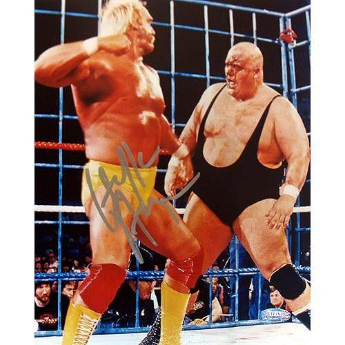 Hulk Hogan vs. King Kong Bundy 8x10 Photo