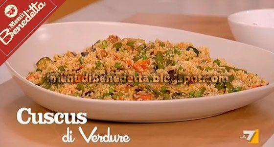 Cuscus di verdure e salsa agrodolce Benedetta Parodi