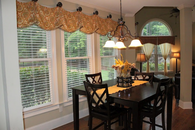Dining Room Curtains Since My Windows Are Bay Windows I