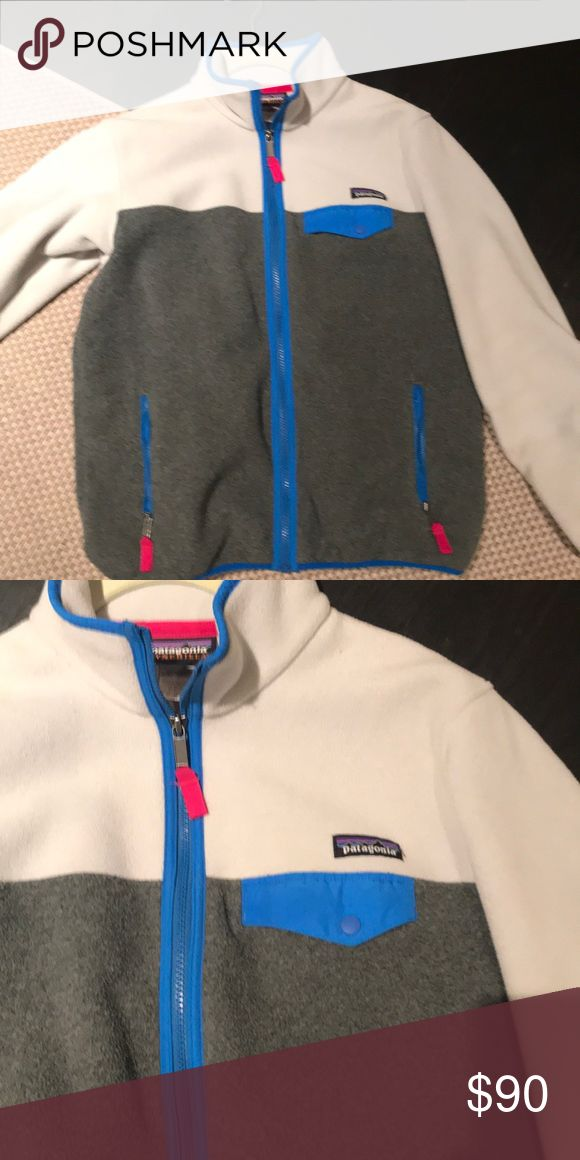 Full zip Patagonia synchilla jacket Great jacket! Excellent condition Patagonia Jackets & Coats