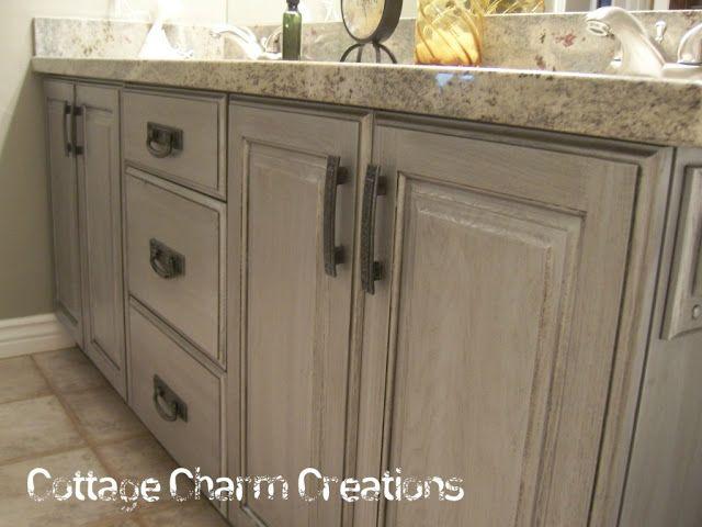 cottage charm creations zinc patina custom tutorial