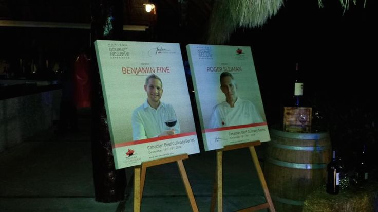 #ExperienceCDNbeef Culinary series at @karismahotels with Chef Sleiman. #Wine #Beef #Food