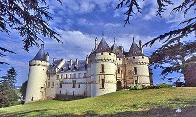 Chateau Chaumont. Inspiration for Disney castles