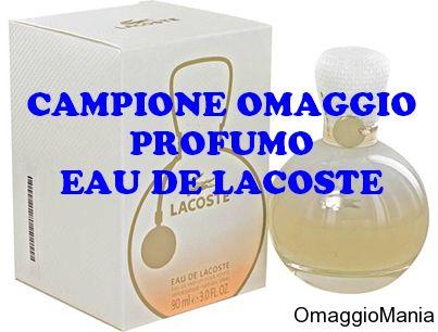Campione omaggio profumo Eau de Lacoste - http://www.omaggiomania.com/campioni-omaggio/campione-omaggio-profumo-eau-de-lacoste/