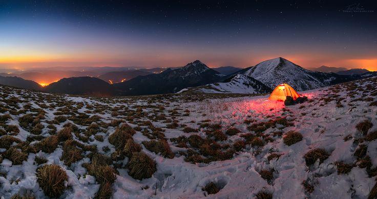 Malá Fatra - nocování na Grúni (foto: Tomas Machara)