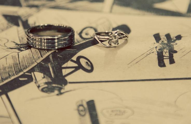 Rings. Photographer: Erika Turvey @ MakeBelievePhotography