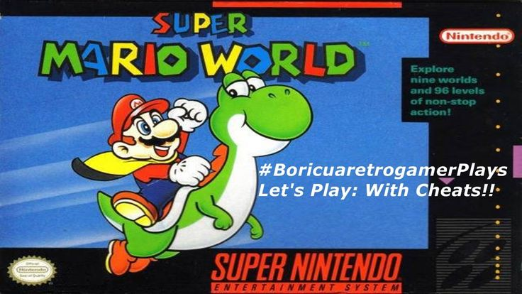 Let's Play: Super Mario World (With Cheats)