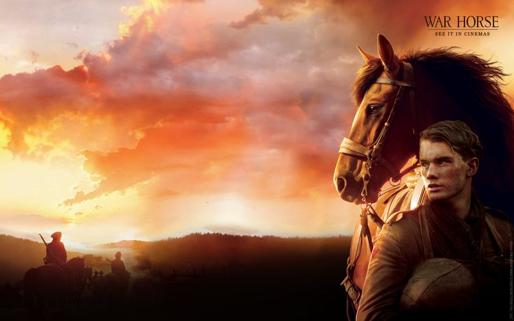 #WarHorse :)) One of the lovliest movies i've seen.Just soo beautiful & brilliantly done <3