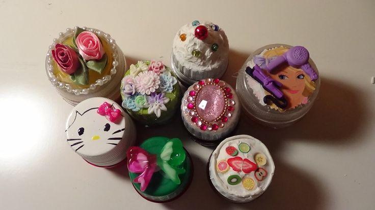 Pastilleros hechos con tapas de refresco reusing repurposing pinterest pastillas cajas - Reciclar marmol ...