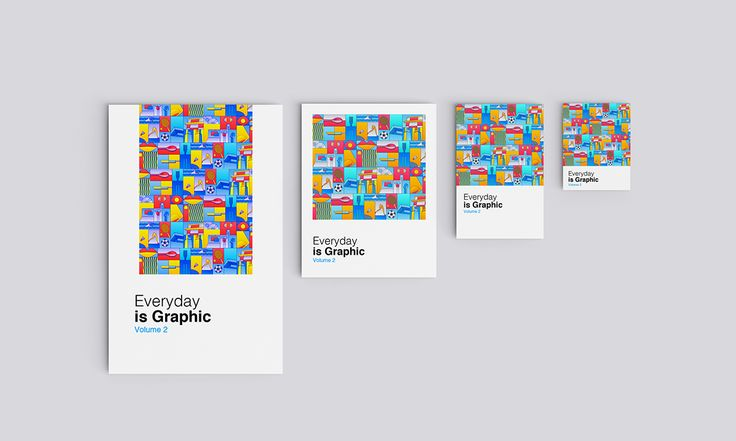 Everyday is Graphic Vol.2 on Behance