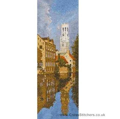 Bruges - John Clayton Internationals Cross Stitch Kit from Heritage Crafts