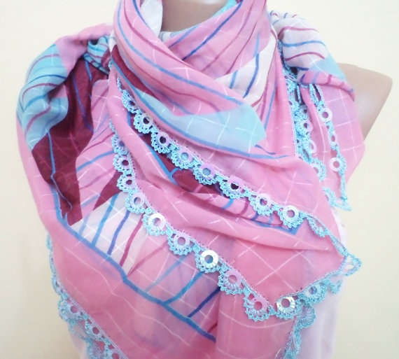 mothers days mom gifts unique cheesecloth beaded by BloomedFlower, $30.00