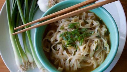 Asian Noodle Soup recipe