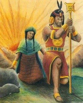 "Leyendas Cortas para Niños: La leyenda de Manco Capac y Mama Ocllo. A legend, ""Manco Capac y Mama Ocllo."" Consider asking students to read this story, providing them with activities for before, during, and after reading the text. Peruvian Women, Inca Empire, Paradigm Shift, Conquistador, 3d Drawings, Culture, American Horror Story, Mythology, History"