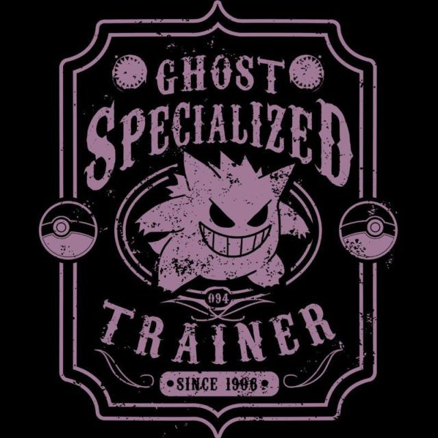 I want this Ghost Specialized T-Shirt $12.99 Pokemon tee at Pop Up Tee! So bad