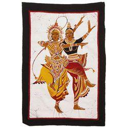 Sri Lankan Dance Duo' Batik Art (Sri Lanka) - Overstock™ Shopping ...