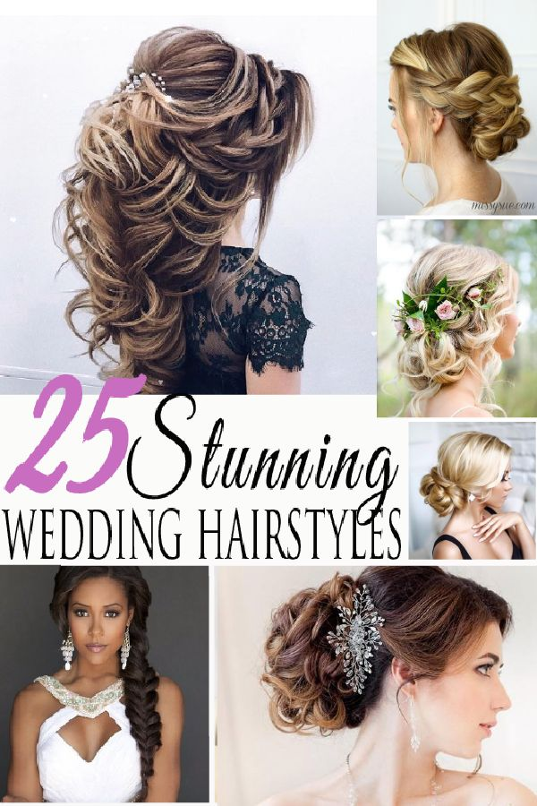 Up high or down low, these hairstyles are sure to make you look amazing on your wedding day!