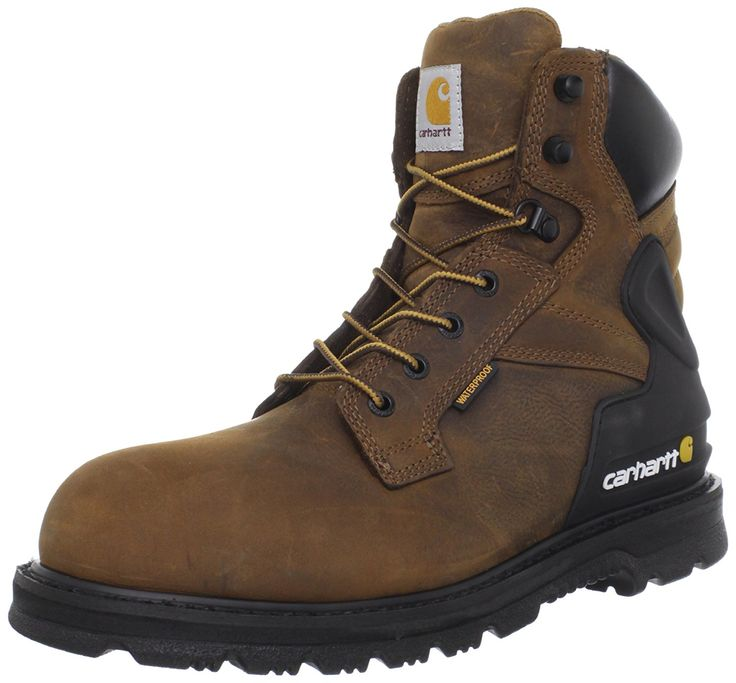 Carhartt Men's CMW6120 6 Work Boot -- Don't get left behind, see this great boots : Carhartt Boots