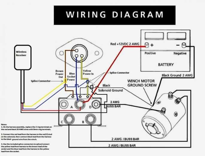 warn a2000 winch wiring diagram  gas pulse meter wiring