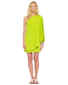 love mk drape shoulder dress $120