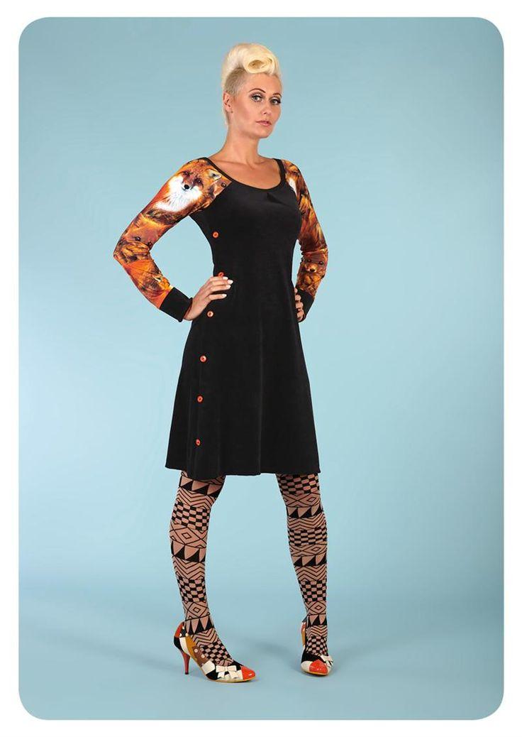 Køb Margot kjole Lolou La Lux 00567 hos denckerdeluxe