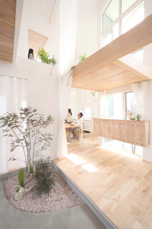 Would love for my future office to look like this...natural wood, light, open spaces. Love!!!     Kofunaki House / ALTS Design Office
