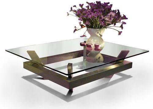The 25 best mesa de centro cristal ideas on pinterest - Mesas de centro modernas para sala ...