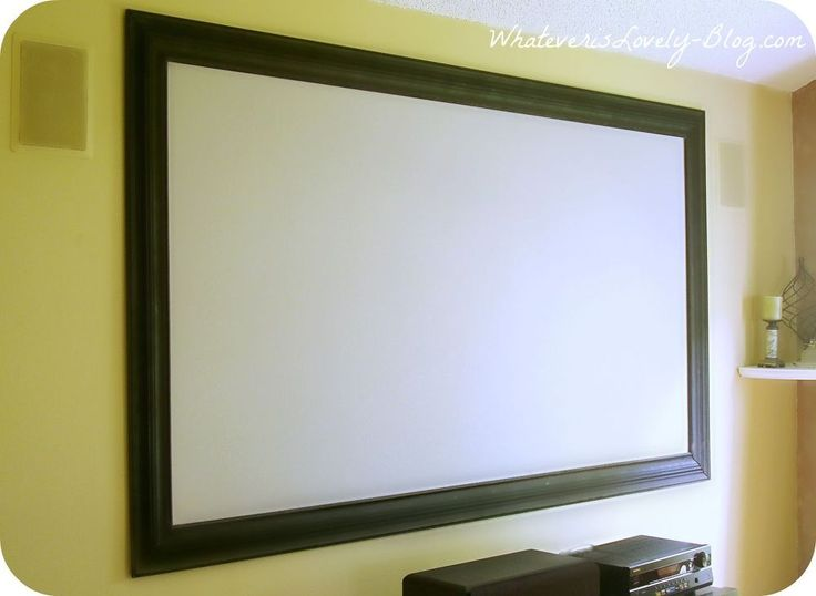 Projection screen paint home depot