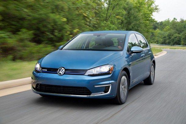Volkswagen Selling e-Golf SE in August, Targets Nissan Leaf