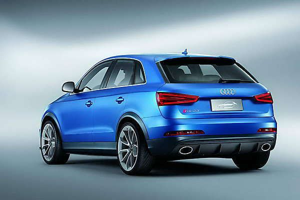 2018-2019 Audi RS Q3 Concept – a compact and powerful crossover from 2018-2019 Audi