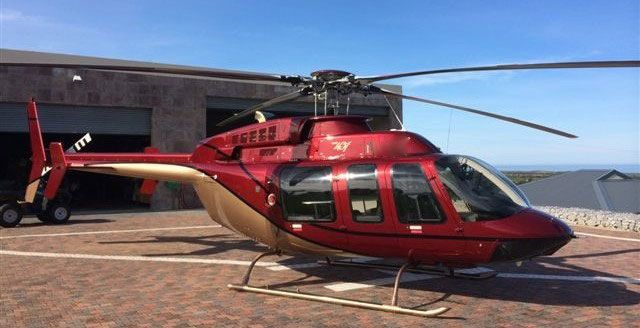 Bell 407 Helicopter