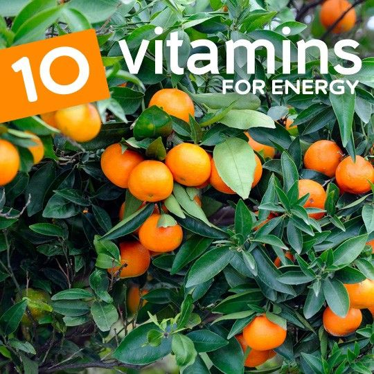 10 Vitamins for Energy (End Your Fatigue)