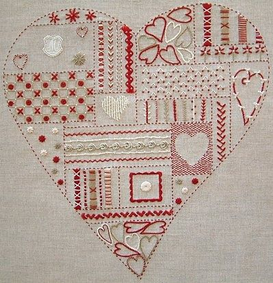 embroidery -.