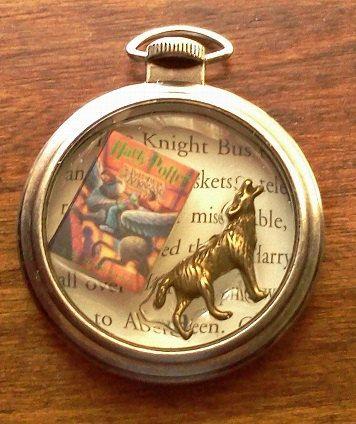 Harry Potter and the Prisoner Of Azkaban Pocket Watch Themed Pendant Necklace