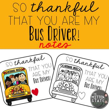 Would you like a simple and cute way to thank your child's bus driver? Would you like to offer your students a simple way to thank his/her bus driver? Print this freebie, have your child sign the bottom, and you're done! Attach a small gift if you desire!