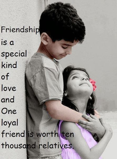 One Loyal Friend is Worth Ten Thousand Relatives - Friendship Quote   Full Dose