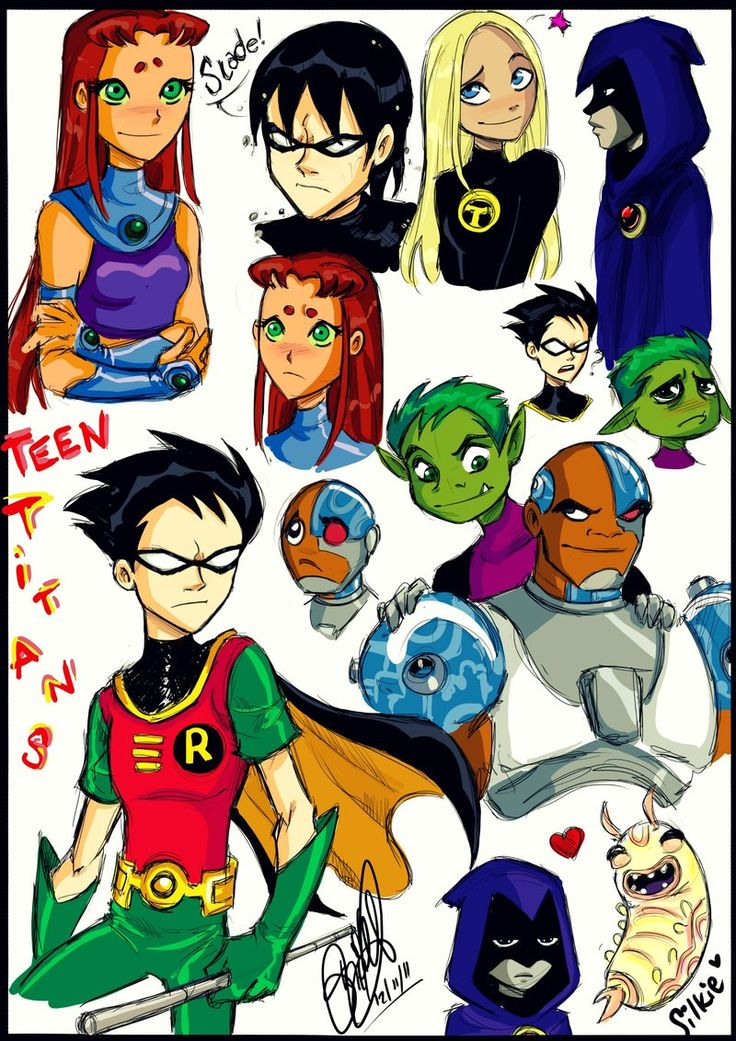 17 Best Images About Teen Titans On Pinterest  Robins -2881