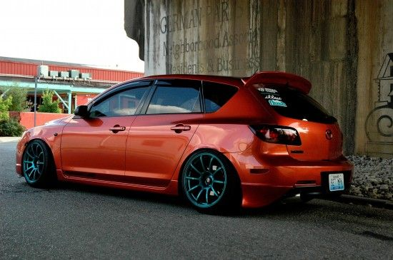 This is my buddy's Mazda... vote for him @ mazdamovement.com!!
